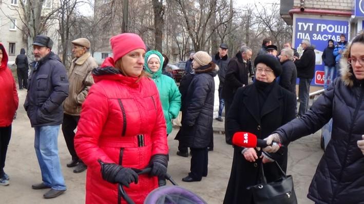 В продолжение к митингу: Верните газ и электроэнергию народу.