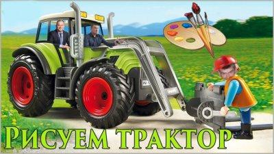 Рисуем трактор: Никополь, махинации ЖКХ с закупкой тракторов (видео)