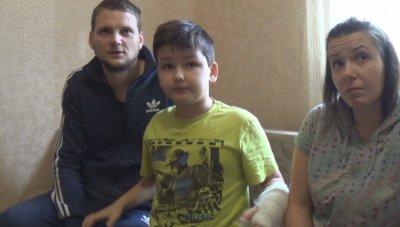 В Никополе Питбультерьер погрыз ребенка. Кто виновен и Что делать?  (видео)