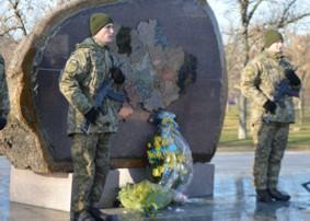 21 січня відбудеться урочисте відкриття другої частини пам'ятника «Захисник України»