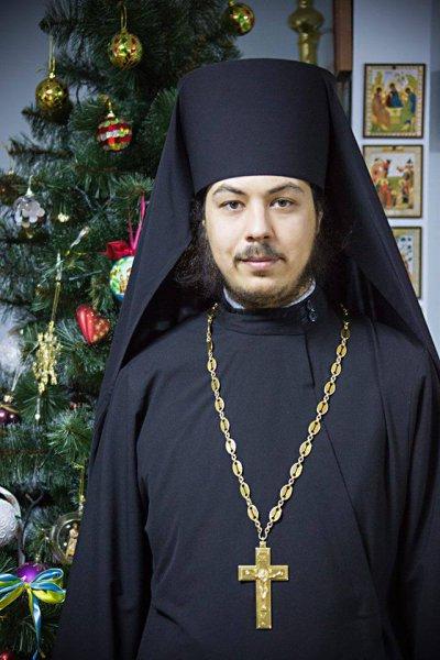 Різдвяне привітання Благочинного Нікополя та району ієромонаха Меркурія