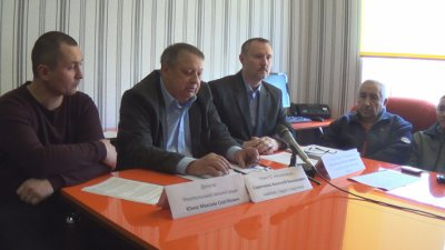 Пресс-конференция инициативной группы ЗА отставку А.П.Фисака (фото, видео)