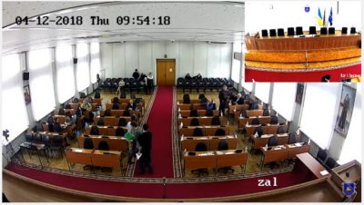 Трансляція сесії міської ради