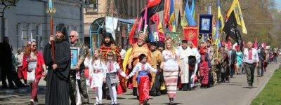 В Никополе празднуют 370-летие со дня избрания Богдана Хмельницкого гетманом Украины