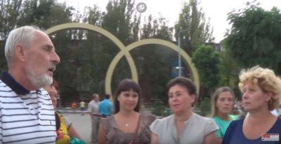 """""""Свободный микрофон"""" в Марганце  (видео)"""